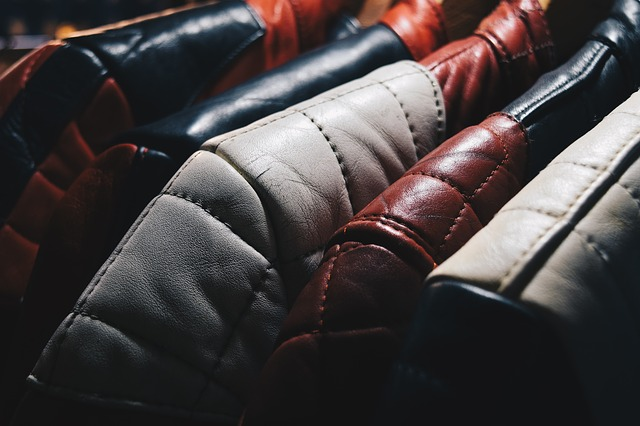limpiar chaquetas de cuero